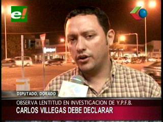 """""""Fiscales no deben tener miedo para citar a Carlos Villegas en el caso de corrupción en YPFB"""""""
