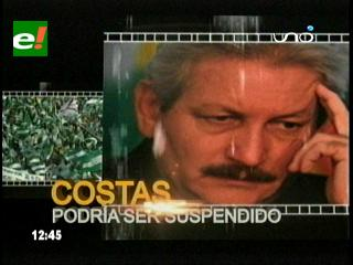 Rubén Costas vive el día 'D' en la Gobernación