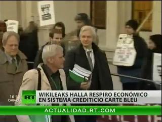 WikiLeaks rompe el bloqueo de Visa y MasterCard