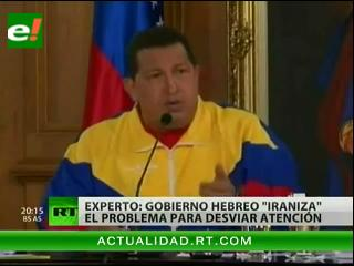 Israel acusa a Hugo Chávez de ayudar a Irán con la bomba atómica
