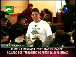 Caso terrorismo I: Denuncian que Juan Kudelka sufre torturas en el penal de San Pedro