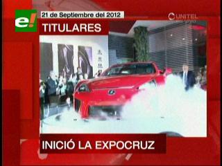 Expocruz 2012: La más grande muestra ferial del país abrió sus puertas