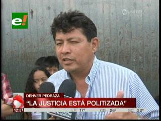 Emiten orden de aprehensión contra el ex director de Dircabi Denver Pedraza