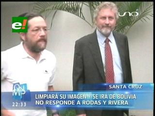 Ostreicher quiere limpiar su imagen para irse de Bolivia