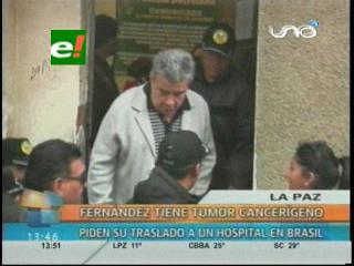 Detectan tumor en unos de los riñones de Leopoldo Fernández