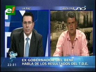 Elecciones en Beni: Ernesto Suárez habla de los resultados del TDE