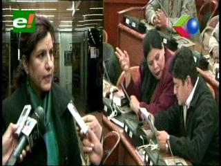 """Diputada Delgado no tendrá ninguna comisión: """"Asumo el castigo del MAS"""""""