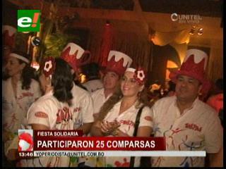 Derroche de alegría en la fiesta precarnavalera VIP solidaria