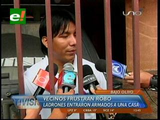 Santa Cruz: Vecinos evitan que delincuentes roben en una casa en Los Olivos