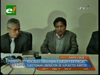 Liberación de supuestos narcos: Vocales observan el accionar de la jueza Valeria Salas