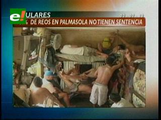 Titulares: El 80 % de los reos de Palmasola no tienen sentencia ejecutoriada y otras noticias