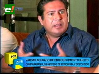 Óscar Vargas es denunciado de corrupción por su ex esposa