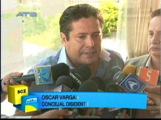 Suspenden audiencia contra el concejal Óscar Vargas por enriquecimiento ilícito