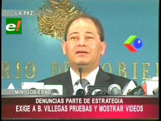 Romero niega haber tenido contacto con Villegas y lo emplaza a presentar pruebas