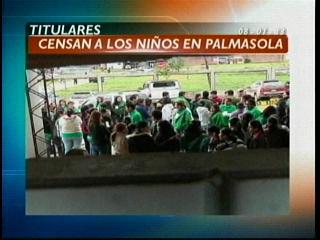 Titulares: Censaron a los menores de Palmasola y otras noticias
