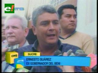 Ernesto Suárez presentó denuncia por sedición y conspiración ante la Fiscalía General
