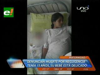 Denuncian muerte por supuesta negligencia médica en la Maternidad Percy Boland
