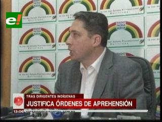Héctor Arce ratifica que agresión a Pradel no aplica como Justicia Comunitaria
