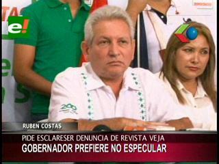 Rubén Costas prefiere no especular sobre la supuesta requisa al avión de Celso Amorim