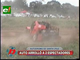 Autódromo Santa Cruz: Accidente obliga a enmallar el circuito