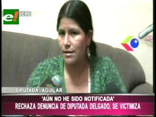 Diputada Flora Aguilar rechaza demanda de su colega Rebeca Delgado