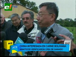 China interesada en carne boliviana