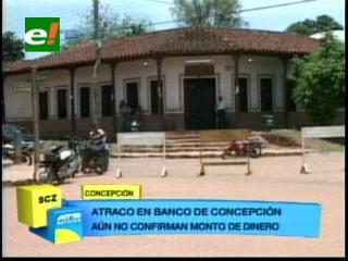 Delincuentes atracan sucursal del Banco Unión en Concepción