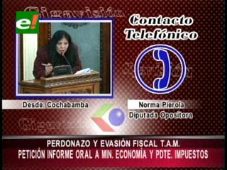 "Pedirán informe al Ministro de Economía por ""perdonazo tributario"" al TAM"