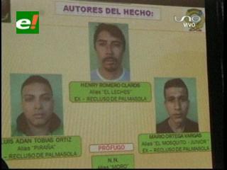 Policía desbarata una supuesta banda criminal en Santa Cruz