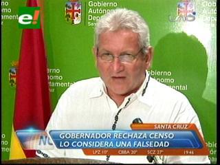Resultados del censo: Gobernador Costas exige la renuncia de toda la dirección del INE