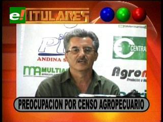 Titulares: Hay preocupación en la CAO por el manejo del censo agropecuario