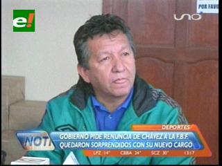 Viceministro de deportes dice que por ética Carlos Chávez debería renunciar a la FBF