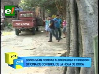 Santa Cruz: Alcohol, música y baile en las oficinas de Digcoin