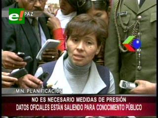 Caro confirma llegada de Director del Celade para auditoría técnica al Censo 2012