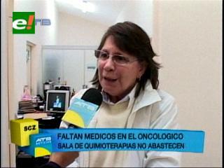 El Oncológico 'agoniza' por falta de médicos y equipos