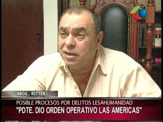 """Ritter: """"Evo Morales fue quien dio la orden de matar en Hotel Las Américas"""""""
