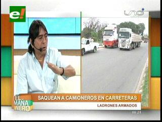 Ladrones armados saquean a camioneros en carreteras