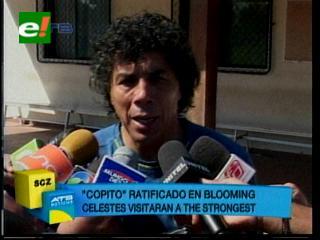 """""""Copito"""" Andrada ratificado en Blooming"""