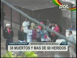 ¡Masacre en Palmasola!