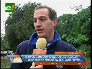 Gustavo Saba, el rey del  Rally Codasur