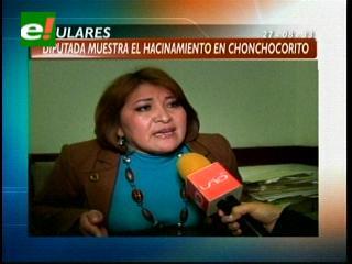 Titulares: Diputada opositora muestra el hacinamiento en Palmasola
