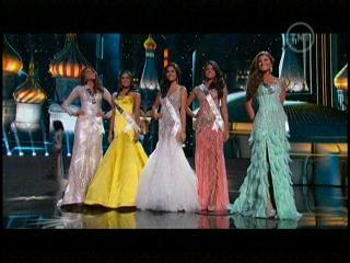 Las 5 finalistas del Miss Universo 2013