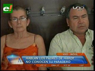 Padres de Hardy Gómez piden a su hijo que se presente y diga su verdad