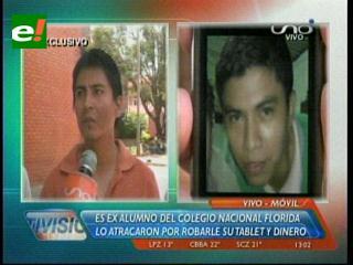 Santa Cruz: Otro estudiante universitario es víctima de la delincuencia