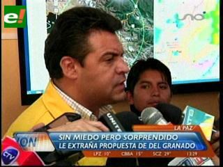 Luis Revilla sorprendido por las declaraciones de Juan del Granado sobre la capitalidad