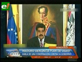 Presidente Maduro denuncia planes de la USAID para derrocar al gobierno venezolano