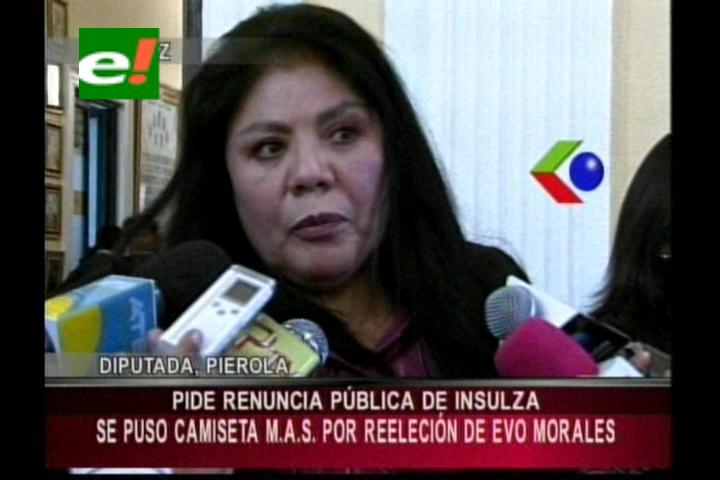 Diputada Piérola pide la renuncia de José Miguel Insulza como Secretario de la OEA
