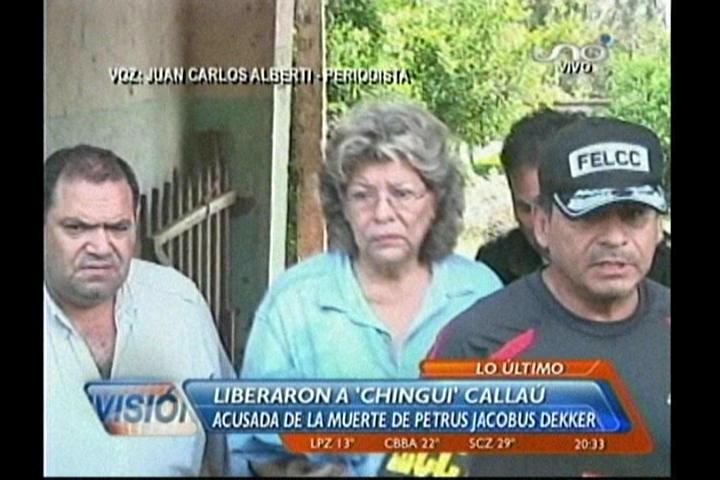 """Dictaminan arresto domiciliario para """"Chingui"""" Callaú, ex reina del Carnaval de Antaño obtiene su libertad"""