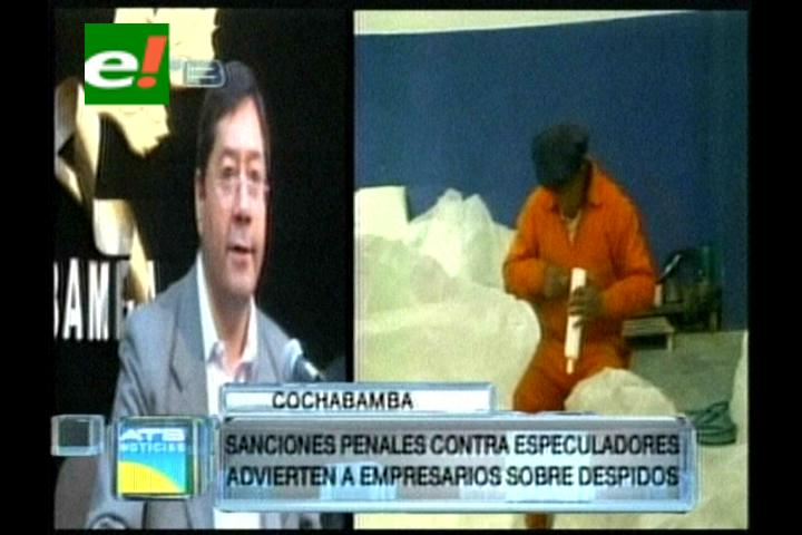 Doble aguinaldo: Gobierno procesará a comerciantes especuladores