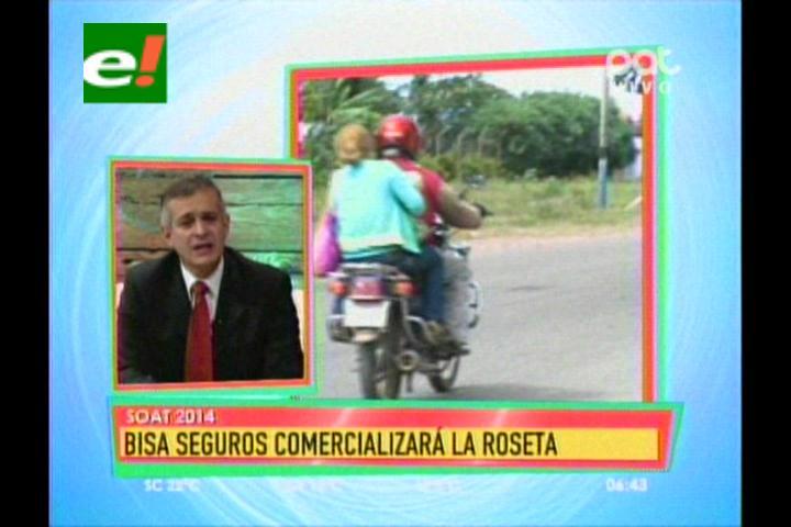 Bisa Seguros vuelve a comercializar roseta del Soat 2014